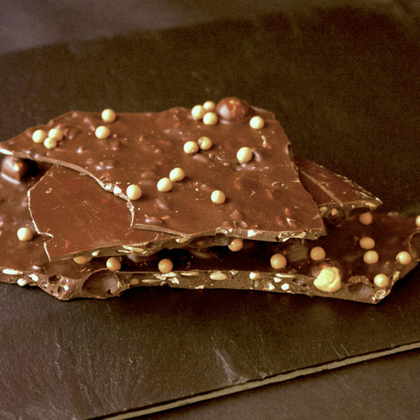 Gerookte chocolade chunks