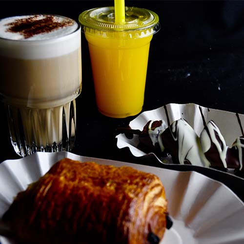 Ontbijt en Lunch